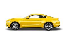 Ford Mustang - Coupé (2014 - heute) 2 Türen Seitenansicht
