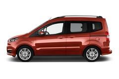 Ford Tourneo Courier Titanium Van (2014 - heute) 5 Türen Seitenansicht