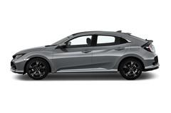 Honda Civic Executive Kompaktklasse (2015 - heute) 5 Türen Seitenansicht