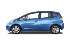 Honda Jazz Exclusive Kleinwagen (2008 - 2013) 5 Türen Seitenansicht