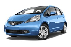 Honda Jazz Exclusive Kleinwagen (2008 - 2013) 5 Türen seitlich vorne mit Felge