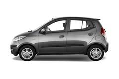 Hyundai i10 Style Kleinwagen (2008 - 2013) 5 Türen Seitenansicht