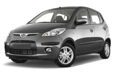 Hyundai i10 Style Kleinwagen (2008 - 2013) 5 Türen seitlich vorne mit Felge