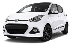 Hyundai i10 TREND Kleinwagen (2013 - heute) 5 Türen seitlich vorne mit Felge
