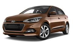 Hyundai i20 Style Kleinwagen (2014 - heute) 5 Türen seitlich vorne mit Felge
