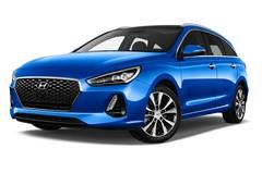 Hyundai i30 Premium Kombi (2017 - heute) 5 Türen seitlich vorne mit Felge