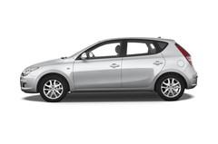 Hyundai i30 Style Kompaktklasse (2007 - 2012) 5 Türen Seitenansicht