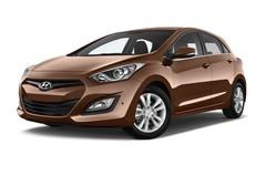 Hyundai i30 Style Kompaktklasse (2012 - 2017) 5 Türen seitlich vorne mit Felge