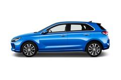 Hyundai i30 Premium Kompaktklasse (2017 - heute) 5 Türen Seitenansicht