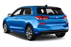 Hyundai i30 Premium Kompaktklasse (2017 - heute) 5 Türen seitlich hinten