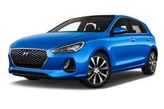 Hyundai i30 Premium Kompaktklasse (2017 - heute) 5 Türen seitlich vorne mit Felge