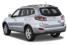 Hyundai Santa Fe Comfort SUV (2006 - 2012) 5 Türen seitlich hinten