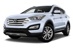 Hyundai Santa Fe Premium SUV (2012 - heute) 5 Türen seitlich vorne mit Felge