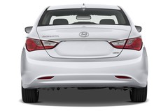 Hyundai Sonata Comfort Limousine (2005 - 2010) 4 Türen Heckansicht