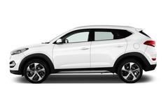 Hyundai Tucson Premium SUV (2015 - heute) 5 Türen Seitenansicht