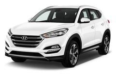 Hyundai Tucson Premium SUV (2015 - heute) 5 Türen seitlich vorne