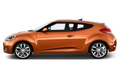 Hyundai Veloster Style Coupé (2011 - heute) 4 Türen Seitenansicht