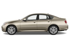 Infiniti M - Limousine (2010 - 2013) 4 Türen Seitenansicht