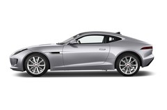 Jaguar F-Type S Coupé (2013 - heute) 3 Türen Seitenansicht