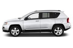Jeep Compass Sport SUV (2007 - 2016) 5 Türen Seitenansicht