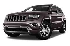 Jeep Grand Cherokee Overland SUV (2010 - heute) 5 Türen seitlich vorne mit Felge