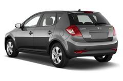 Kia Ceed Attract Kompaktklasse (2006 - 2013) 5 Türen seitlich hinten