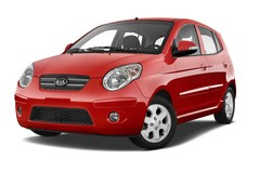 Kia Picanto Vision Kleinwagen (2004 - 2011) 5 Türen seitlich vorne mit Felge