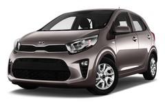Kia Picanto Sprit Kleinwagen (2017 - heute) 5 Türen seitlich vorne mit Felge