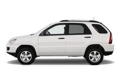 Kia Sportage - SUV (2010 - 2016) 5 Türen Seitenansicht