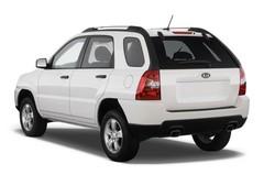 Kia Sportage - SUV (2010 - 2016) 5 Türen seitlich hinten