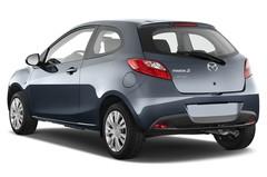 Mazda 2 Independence Kleinwagen (2007 - 2014) 3 Türen seitlich hinten