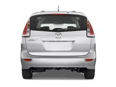 Mazda 5 Comfort Van (2005 - 2010) 5 Türen Heckansicht