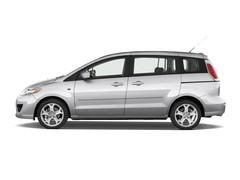 Mazda 5 Comfort Van (2005 - 2010) 5 Türen Seitenansicht