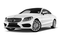 Mercedes-Benz C-Klasse AMG Line Coupé (2015 - heute) 2 Türen seitlich vorne mit Felge