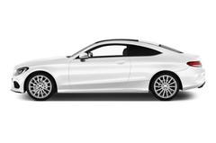 Mercedes-Benz C-Klasse AMG Line Coupé (2015 - heute) 2 Türen Seitenansicht