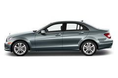 Mercedes-Benz C-Klasse Elegance Limousine (2007 - 2013) 4 Türen Seitenansicht