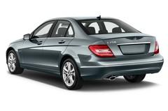 Mercedes-Benz C-Klasse Elegance Limousine (2007 - 2013) 4 Türen seitlich hinten