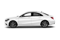 Mercedes-Benz CLA - Coupé (2013 - heute) 4 Türen Seitenansicht