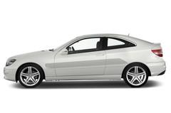 Mercedes-Benz CLC - Coupé (2008 - 2011) 3 Türen Seitenansicht