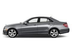 Mercedes-Benz E-Klasse E350 Limousine (2009 - 2016) 4 Türen Seitenansicht