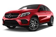 Mercedes-Benz GLE - Coupé (2015 - heute) 5 Türen seitlich vorne mit Felge