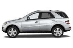 Mercedes-Benz M-Klasse 350 SUV (2005 - 2011) 5 Türen Seitenansicht