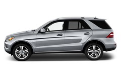 Mercedes-Benz M-Klasse - SUV (2011 - 2015) 5 Türen Seitenansicht