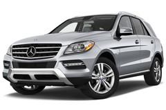 Mercedes-Benz M-Klasse - SUV (2011 - 2015) 5 Türen seitlich vorne mit Felge