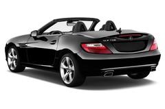 Mercedes-Benz SLK SLK 350 BlueEFFICIENCY Cabrio (2011 - 2016) 2 Türen seitlich hinten