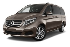Mercedes-Benz V-Klasse Avantgarde Bus (2014 - heute) 5 Türen seitlich vorne mit Felge