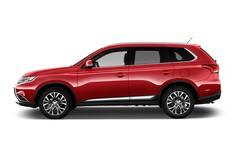 Mitsubishi Outlander Plus SUV (2012 - heute) 5 Türen Seitenansicht