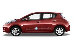 Nissan Leaf - Kompaktklasse (2010 - heute) 5 Türen Seitenansicht