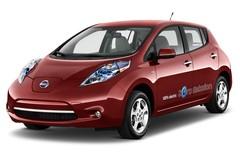 Nissan Leaf - Kompaktklasse (2010 - heute) 5 Türen seitlich vorne