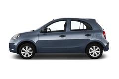 Nissan Micra Visia First Kleinwagen (2010 - 2016) 5 Türen Seitenansicht